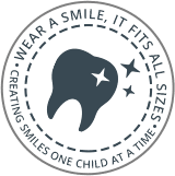 Our Team page circle mark art for Pediatric dentist Dr. Jinju Song